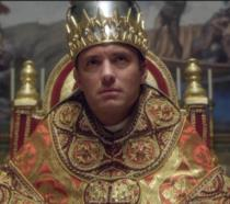 Jude Law in una scena di The Young Pope