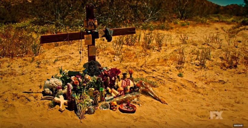 Immagine presa dal nuovo trailer di Mayans Mc