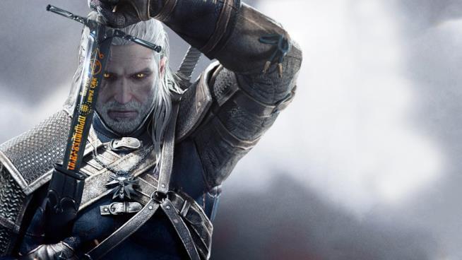 Geralt di Rivia in The Witcher 3
