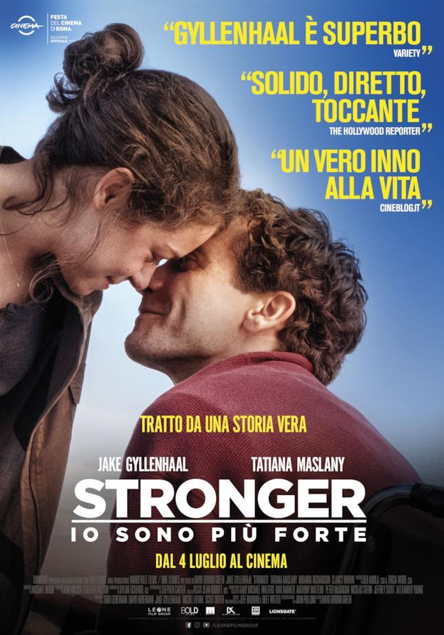 Poster italiano di Stronger - Io sono il più forte