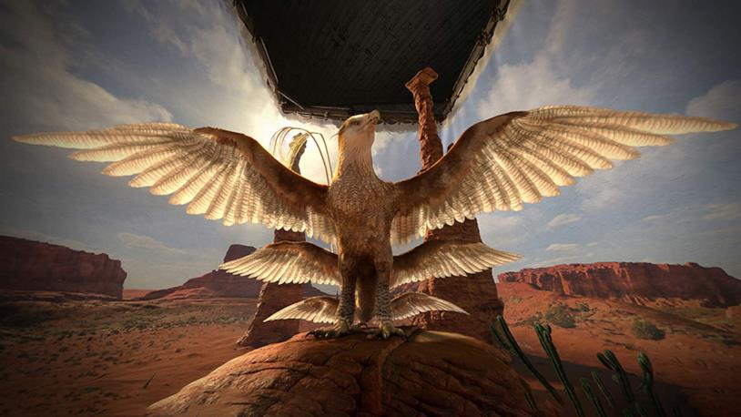 Il Thunderbird o uccello del tuono