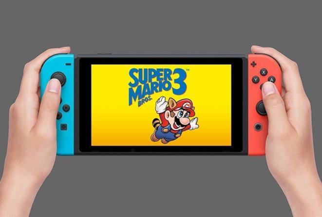 Super Mario Bros. 3 gira su Nintendo Switch