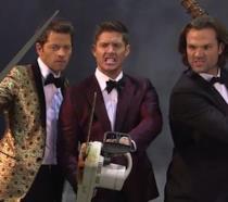 Sam, Dean e Cas danzano con i teschi