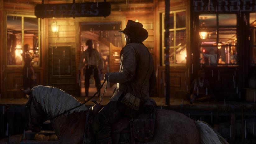 Azione a cavallo in Red Dead Redemption 2