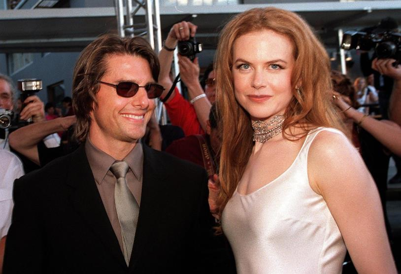 Tom Cruise e Nicole Kidman ai tempi del loro matrimonio