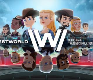 Concept art del gioco mobile di Westworld