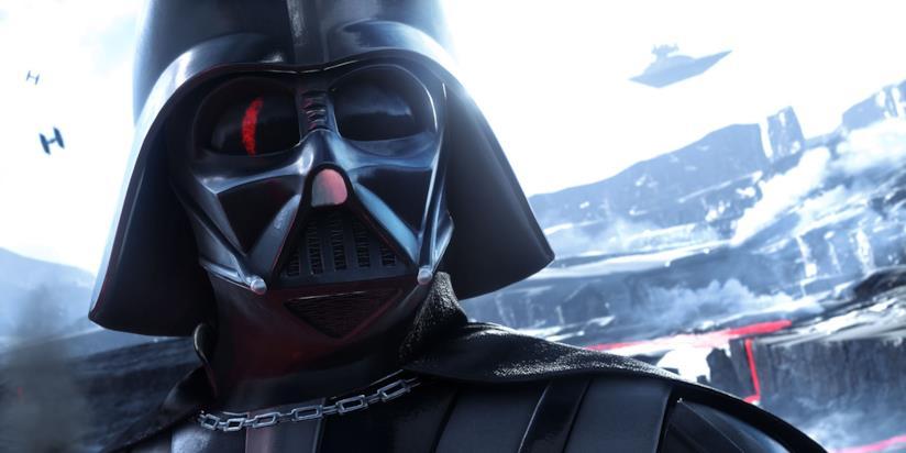 Darth Vader in azione in Star Wars Battlefront
