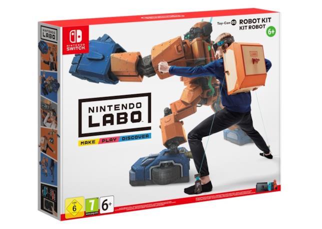 Nintendo Labo propone due diversi kit creativi