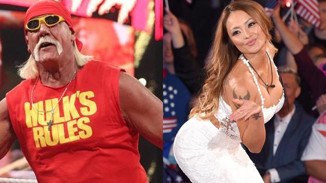 I sostenitori di Trump Hulk Hogan e Tila Tequila