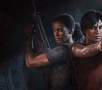 Chloe e Nadine sulla cover di Uncharted: The Lost Legacy