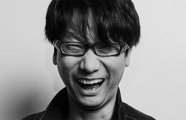 Un sorridente Hideo Kojima