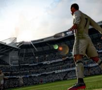 Azione in campo in FIFA 18