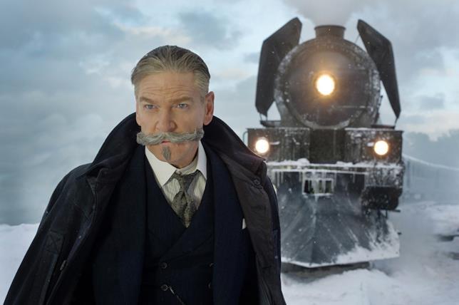 Una scena di Assassinio sull'Orient Express