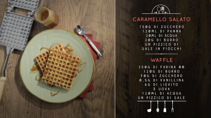 La ricetta dei waffle