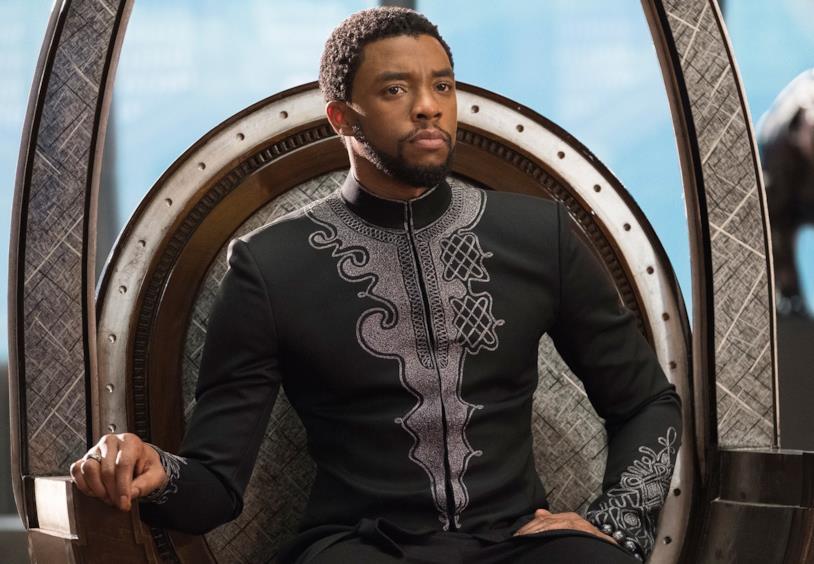 Chadwick Boseman è Black Panther