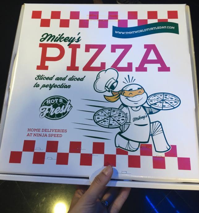 Solo Mikey's Pizza all'anteprima stampa del film