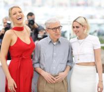 Woody Allen tra Blake Lively e Kristen Stewart