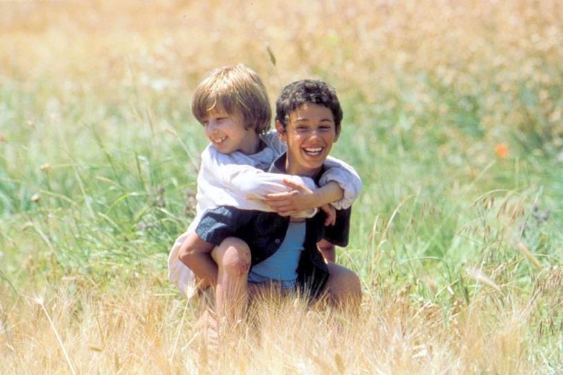 Il protagonista Michele ed il suo amico Filippo