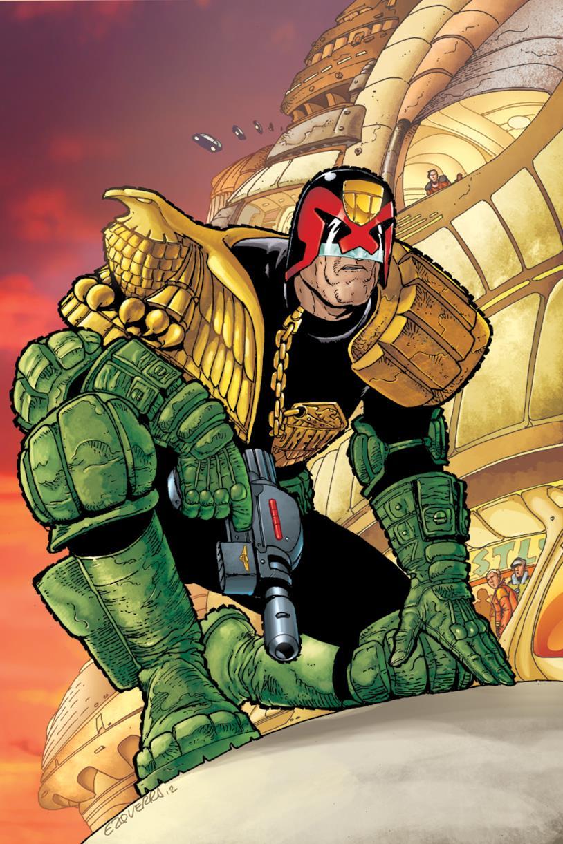 La cover del primo numero di Judge Dredd: Year One