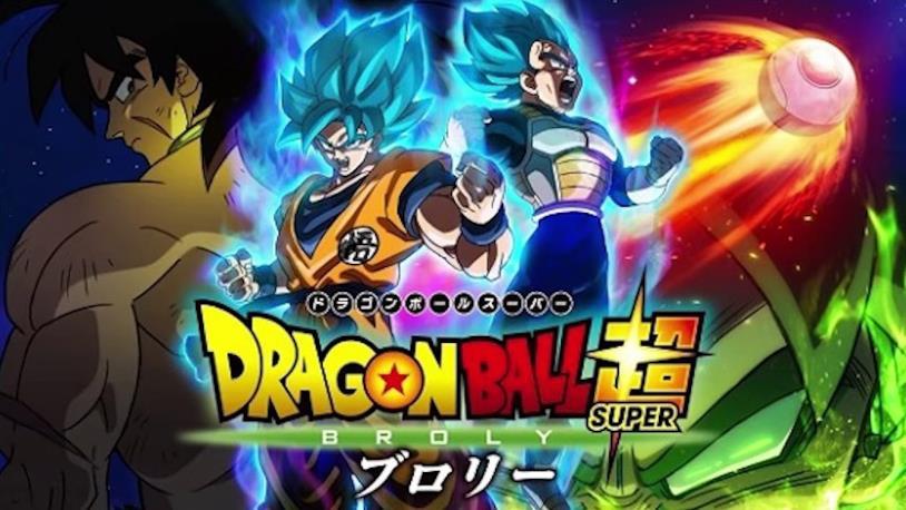Broly Goku e Vegeta nel film animato