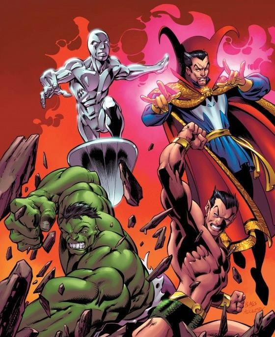 La copertina variant del primo numero de I Difensori