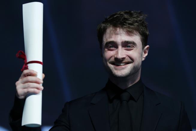 Daniel Radcliffe durante un evento di gala
