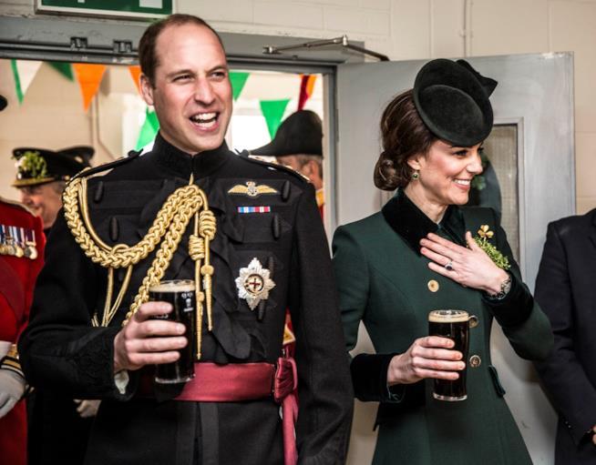 I festeggiamenti per San Patrizio di Kate Middleton e il Principe William
