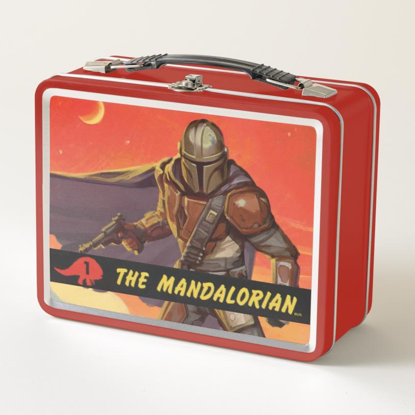 The Mandalorian portapranzo Star Wars