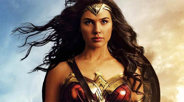 Un primo piano di Gal Gadot in un'immagine promozionale di Wonder Woman