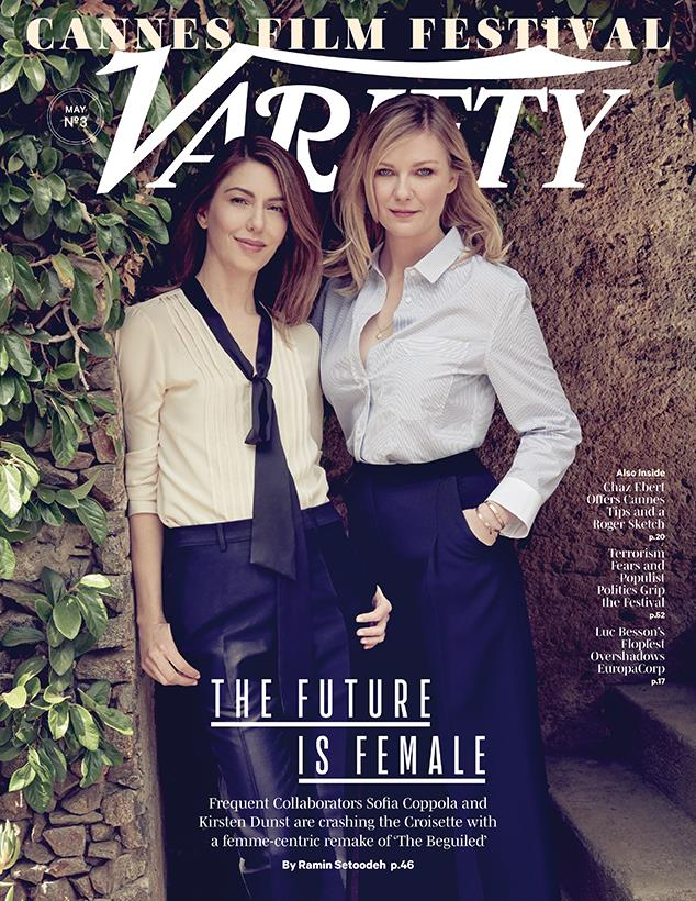 Kirsten Dunst e Sofia Coppola in copertina su Variety