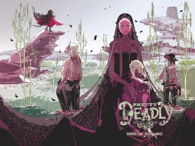 Bellezza e Morte sulla cover del primo volume di Pretty Deadly