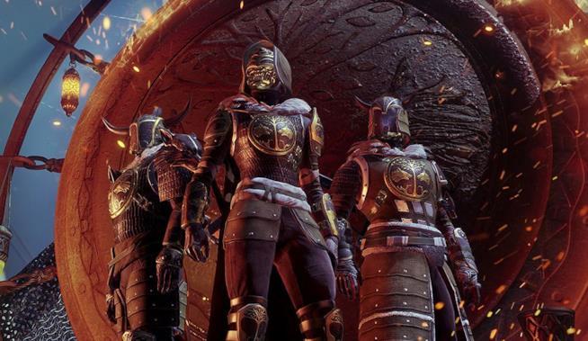 Le armature dello Stendardo di Ferro di Destiny 2