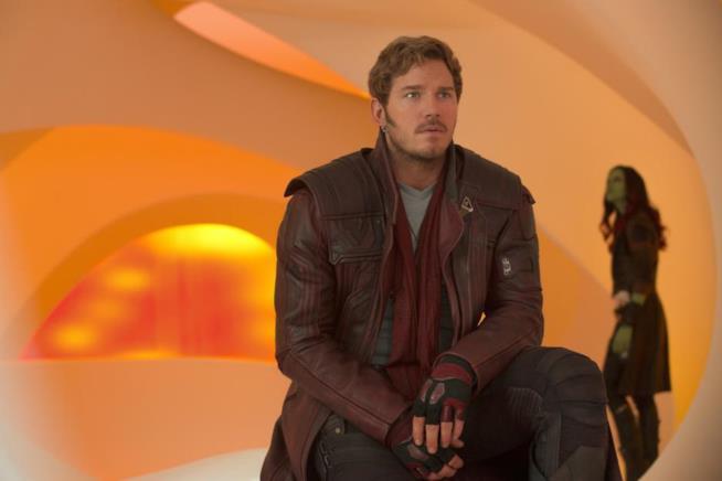 Chris Pratt in Guardiani della Galassia