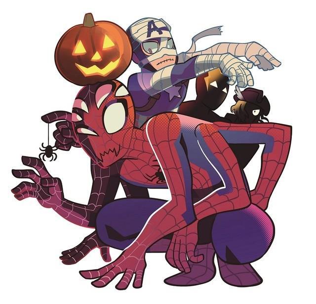 Halloween Avengers Shueisha