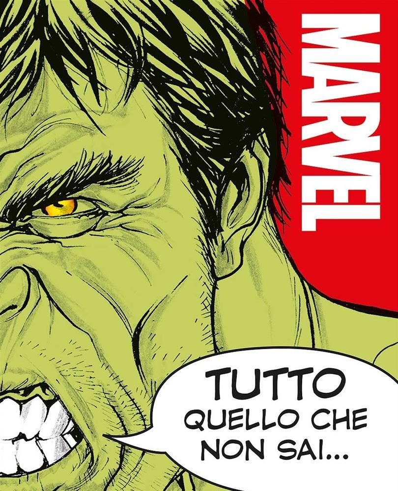 Copertina con Hulk del volume Marvel