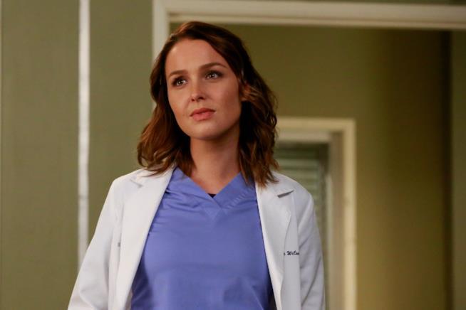 Camilla Luddington è Jo Wilson in Grey's Anatomy