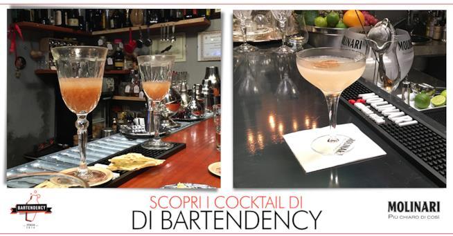 Le immagini dei due cocktail dei bartender siciliani di Bartendency