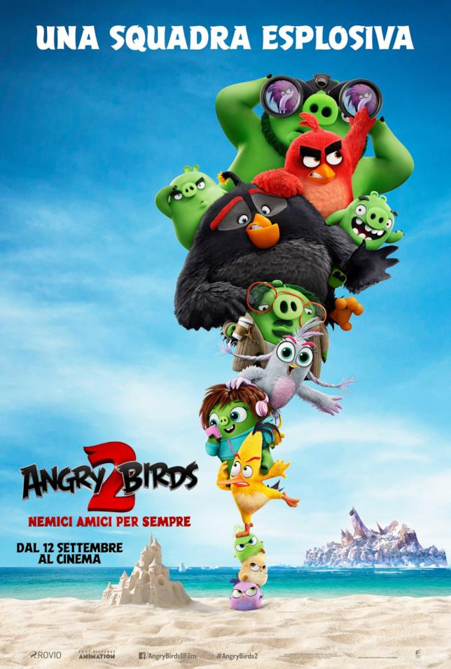 Angry Birds 2 - Nemici amici - il poster
