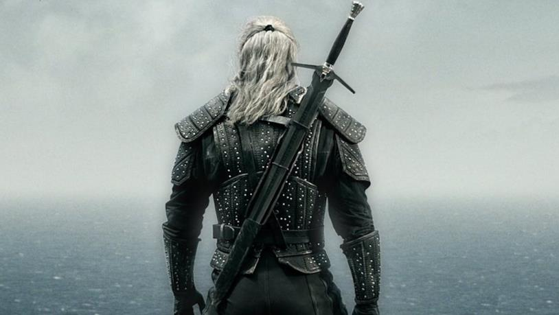 Henry Cavill nel poster di The Witcher