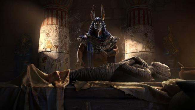 Un artwork di Assassin's Creed Origins ci porta nell'Egitto Tolemaico