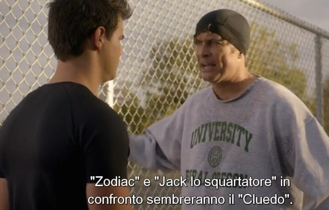 Wes cerca di accordarsi con Cassidy in Scream Queens 2x09