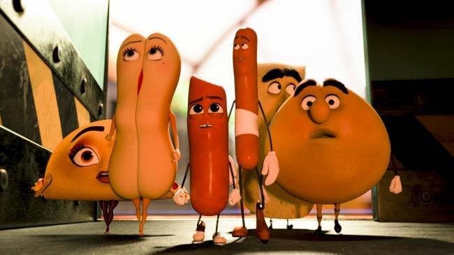 I protagonisti di Sausage Party