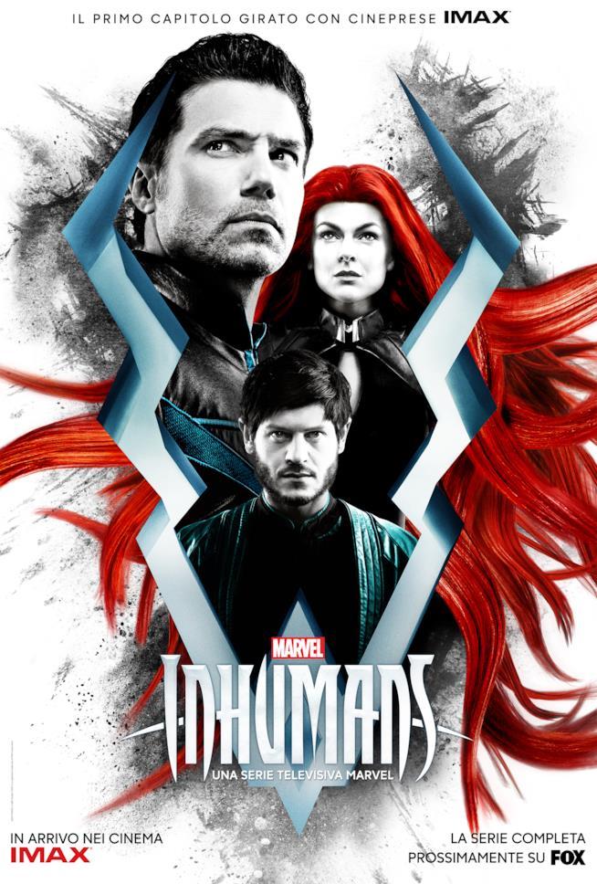 Il poster degli Inumani