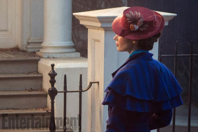 Emily Blunt arriva in casa Banks nel nuovo sequel  Mary Poppins Returns