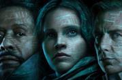 Poster di Rogue One con Jyn, Saw e il Comandante Krennick