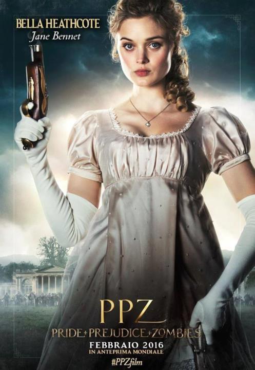 Bella Heathcote è Jane, la più grande delle sorelle Bennet