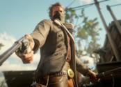 Armi pronte a sparare in Red Dead Redemption 2