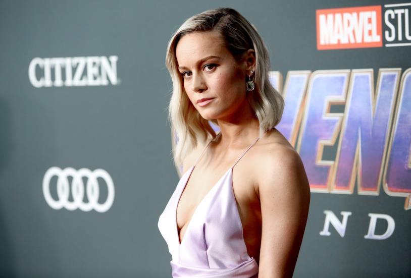 Brie Larson alla prima mondiale di Avengers: Endgame