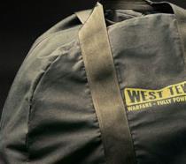 La borsa in tela che doveva essere inclusa in Fallout 76 Power Armor Edition