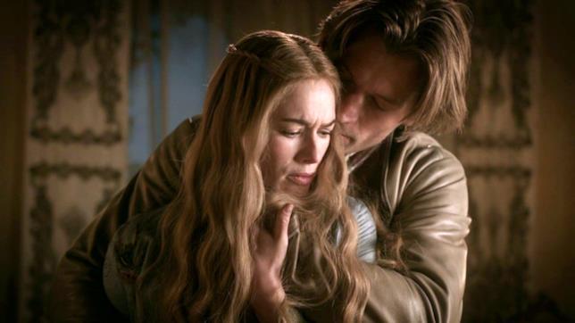 Cersei e Jaime in scena